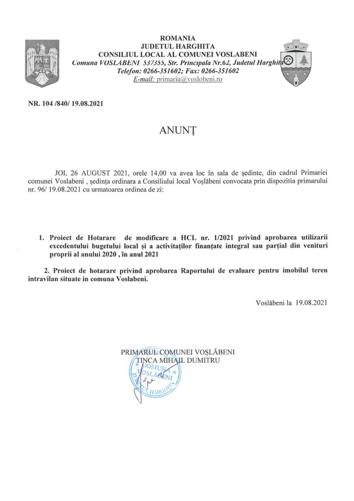 anunt sedinta 26.08